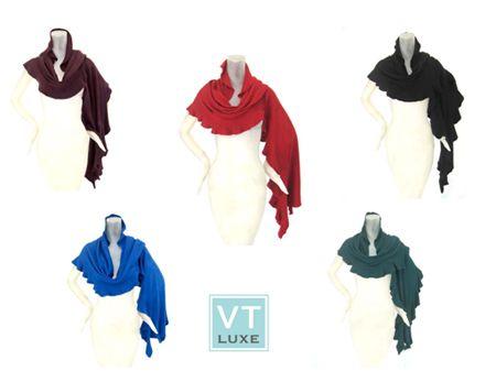 VT Luxe Soft Flutter Wrap