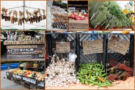 Fall at the Market