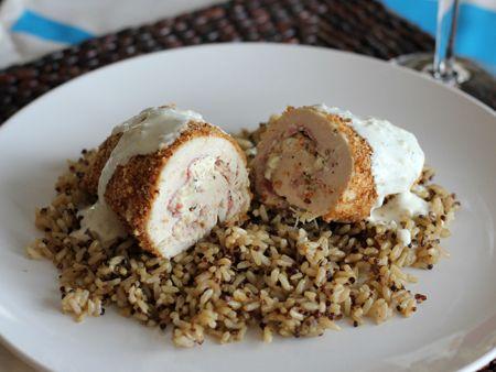 Cheesy Chicken Roll-Ups