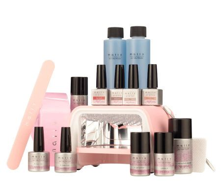 Mally 24/7 Professional 17pc Gel Nail Polish System