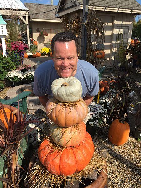 David and the pumpkins