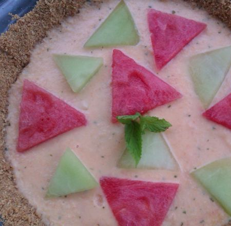 Summer Melon Pie