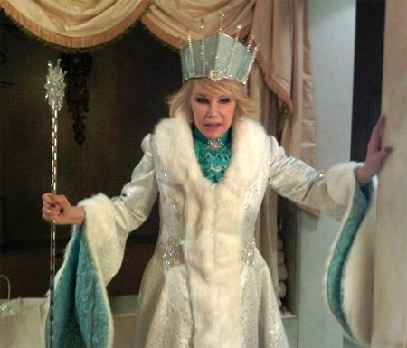 Joan as Ice Queen