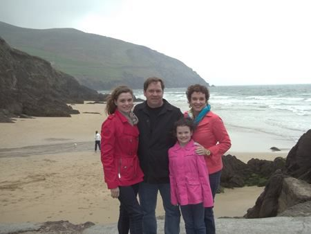 Jane Treacy and her family