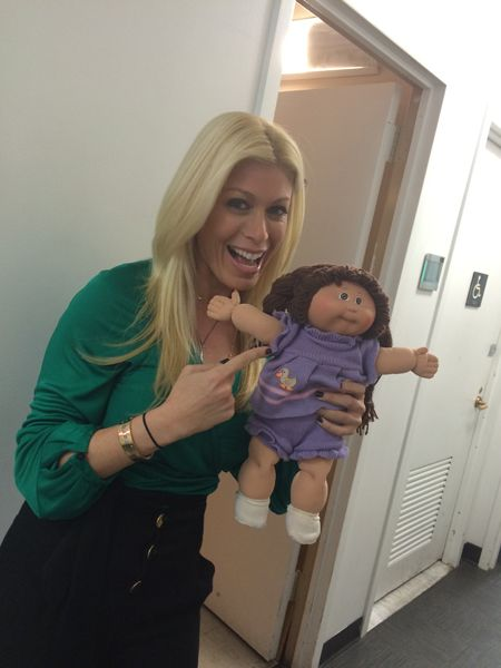 Jill Martin with Her Cabbage Patch Doll