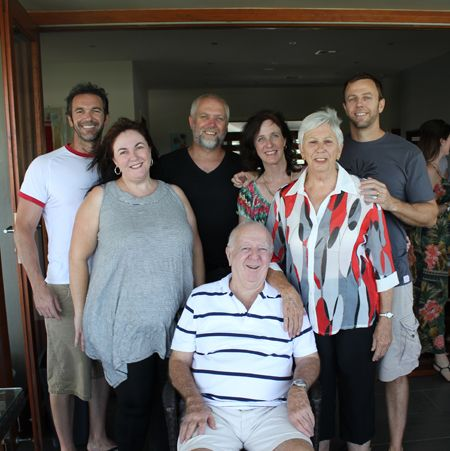 Liam & his family