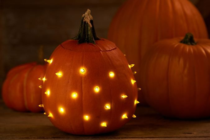 Pumpkin Lights