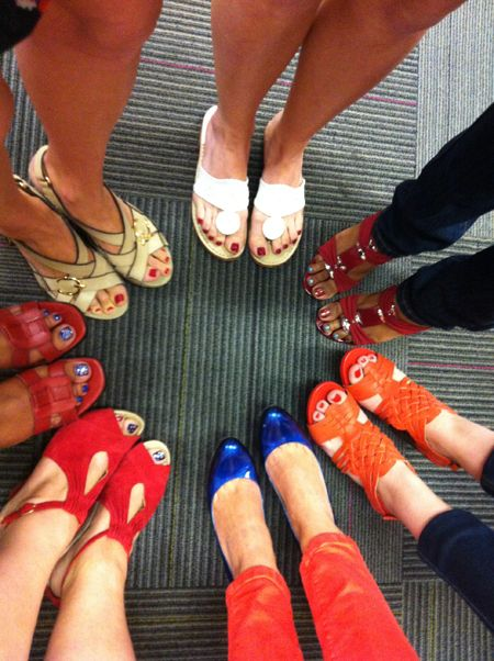 Red White And Shoe Party Blogs Forums