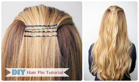 DIY Hair Pins
