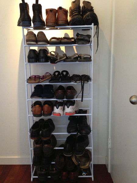 Steve's Shoe Rack