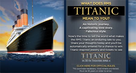 What Does Rms Mean >> Titanic 100th Anniversary Sweepstakes Blogs Forums