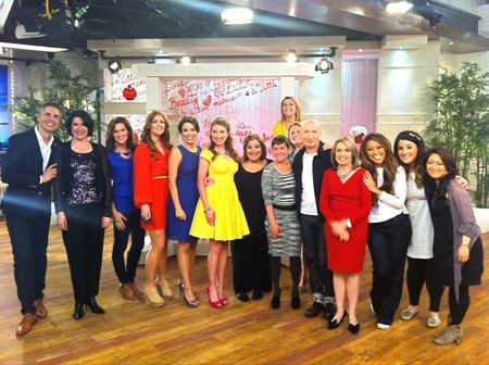QVC hosts at Beauty with Benefits event