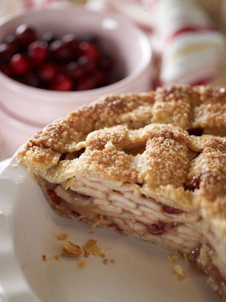 Apple-Cranberry Pie - What's the Prettiest Holiday Dish You Make?