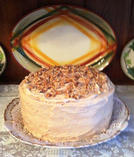 Old-Fashioned Maple Walnut Cake