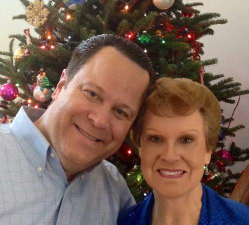 David and His Mom, Sarah