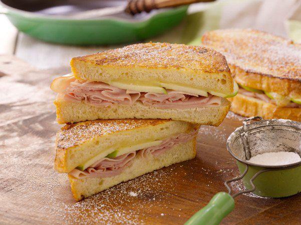 Ham & Apple Monte Cristo Sandwiches