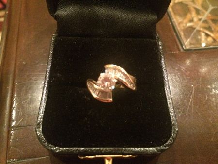 Jane's mother's engagement ring