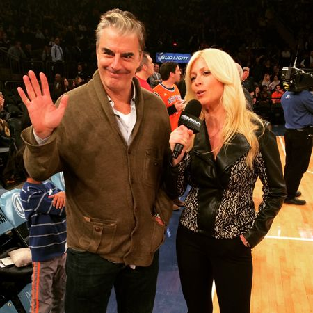 Jill at the Knicks Game