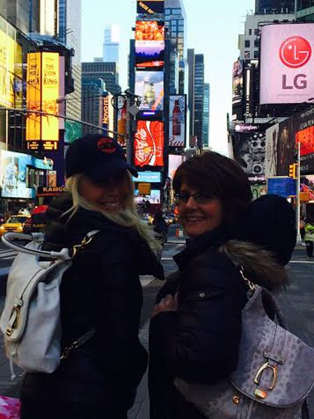 Jill Martin and Jill Bauer in New York City