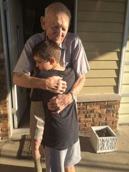 Jill's Grandpa and Trevor
