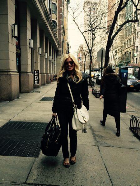 Jill on a street in New York City
