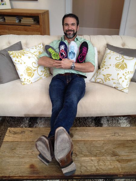 Liam and the Kona Sneaker