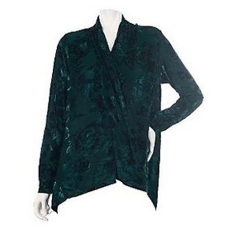VT Luxe Velvet Jacket