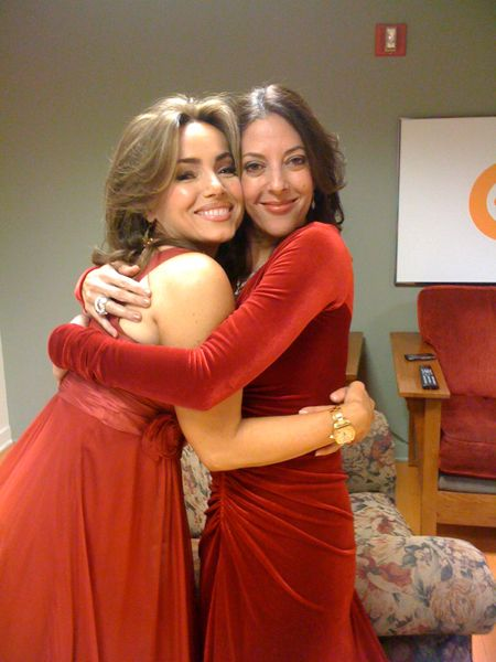 Backstage Hugs