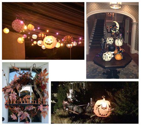 Halloween lighting