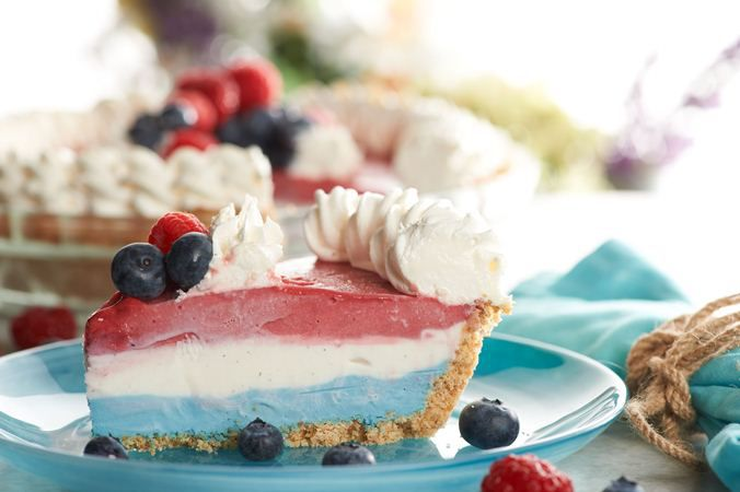Frozen Patriotic Pie