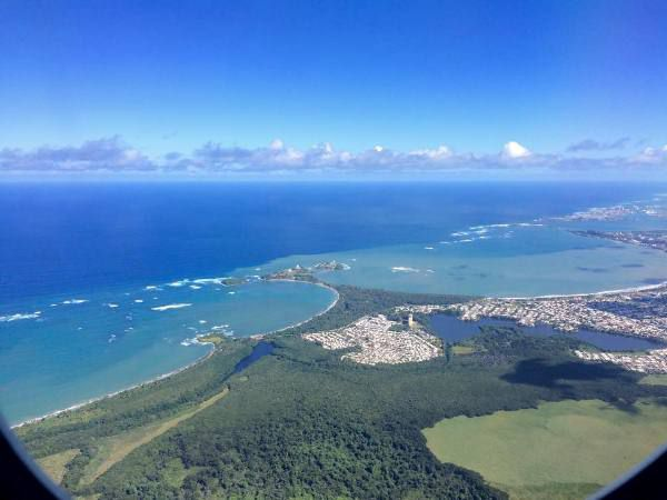 Puerto Rico from the air