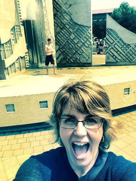 Purdue University Fountain