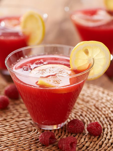 Raspberry-Lemonade Daiquiri