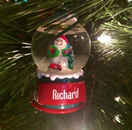 Jill's Dad's Ornament