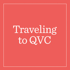 Traveling to QVC
