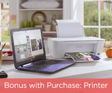 Bonus with Purchase: Printer