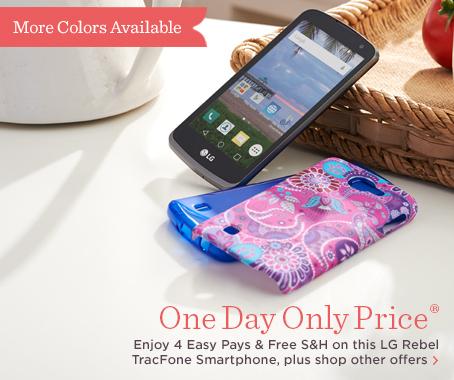 LG Rebel TracFone Smartphone