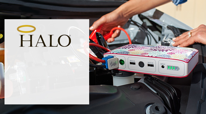 HALO(R) Bolt Charger & Jump Starter