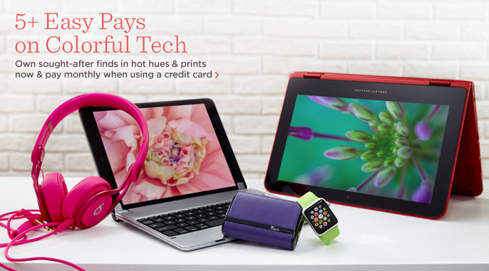 5+ Easy Pays on Colorful Tech