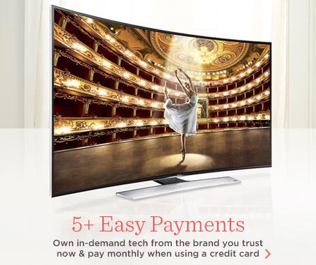 Samsung Curved 4K HDTV