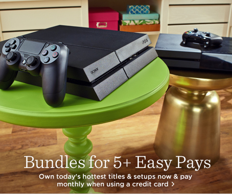 Xbox One & PS4 Consoles