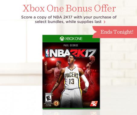 Xbox Bonus with Purchase