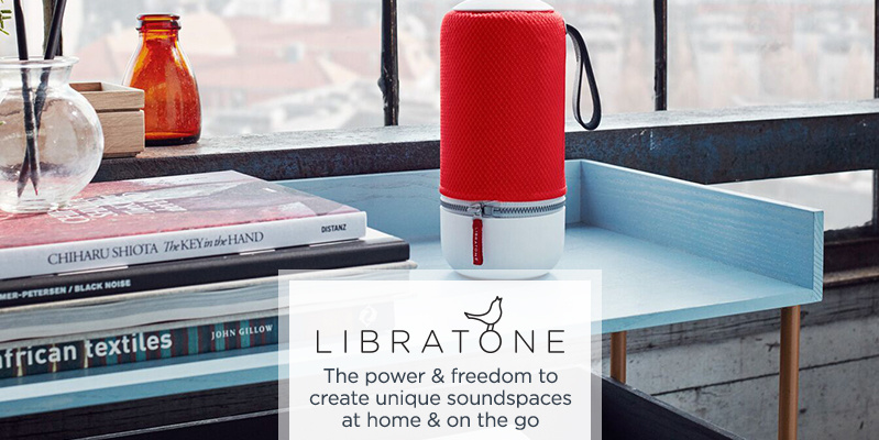 Libratone    The power & freedom to create unique soundspaces at home & on the go