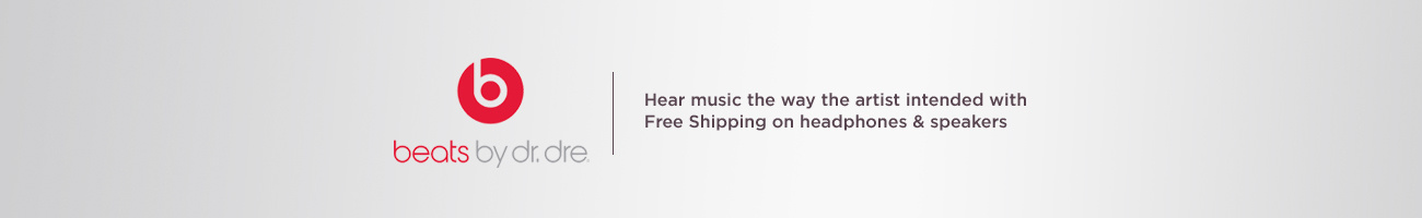 Beats by Dr. Dre. Hear music the way the artist intended with Free Shipping on headphones & speakers