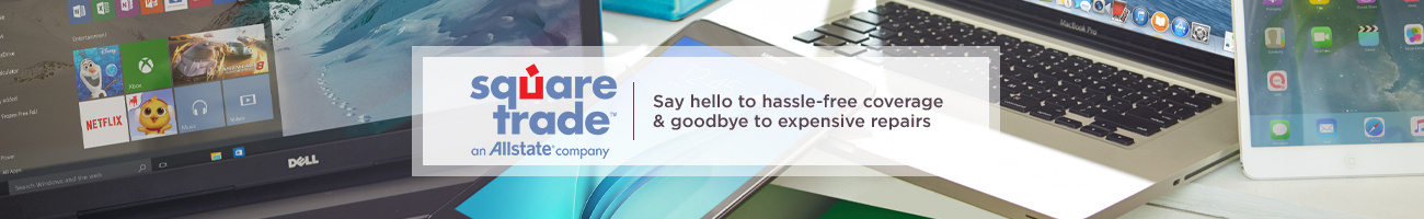 SquareTrade. Say hello to hassle-free coverage & goodbye to expensive repairs