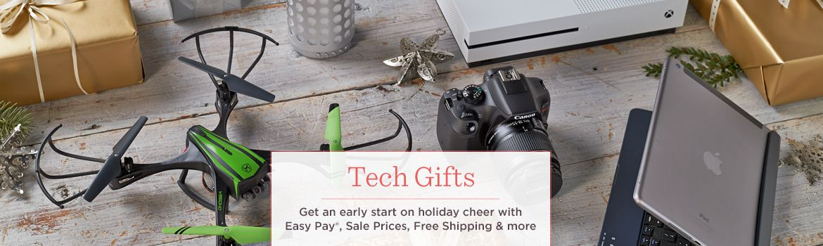 Tech Gifts, Get an early start on holiday cheer with Easy Pay, Sale Prices, Free Shipping & more