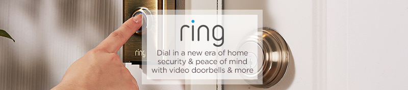 Ring. Dial in a new era of home security & peace of mind with video doorbells & more