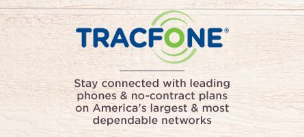 TracFone,  Stay connected with leading phones & no-contract plans on America's largest & most dependable networks