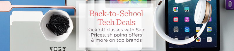 Back-to-School Tech Deals. Kick off classes with Sale Prices, shipping offers & more on top brands