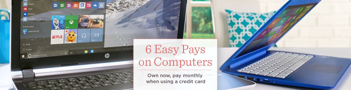 6 Easy Pays on Computers